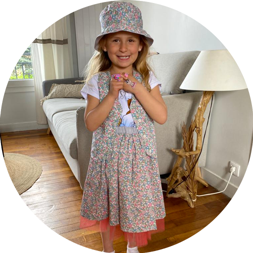vêtement sur mesure pour enfant - couture