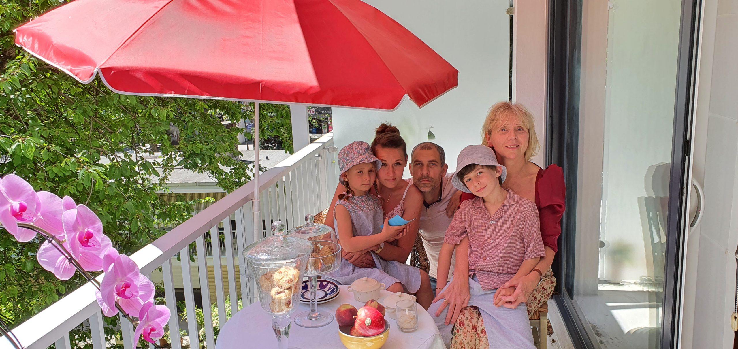 Famille de Nicolas _ R en upcycling - M sur mesure et Moi sur mesure - fete des mères 2021